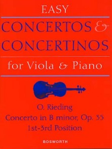 RIEDING O. CONCERTO OP 35 ALTO