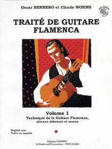 HERRERO O./WORMS C. TRAITE DE GUITARE FLAMENCA VOL 1