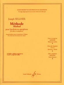 SELLNER J./DEBONDUE A. METHODE VOL 1 ETUDES HAUTBOIS/SAXO