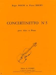 ROCHE R./DOURY P. CONCERTINETTO N°5 ALTO
