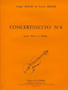 ROCHE R./DOURY P. CONCERTINETTO N°6 ALTO