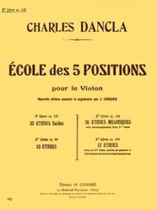 DANCLA C. ECOLE DES 5 POSITIONS OP 128 VOL 3 VIOLON