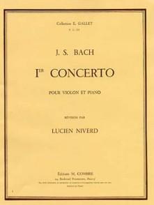 BACH J.S. 1ER CONCERTO BWV 1041 VIOLON