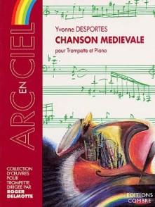 DESPORTES Y. CHANSON MEDIEVALE TROMPETTE