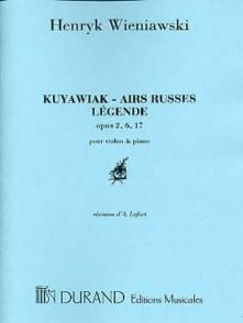 WIENIAWSKI H. KUYAWIAK - AIRS RUSSES  - LEGENDE VIOLON
