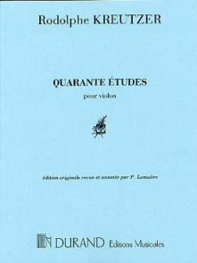 KREUTZER R. 40 ETUDES VIOLON