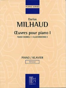 MILHAUD D. OEUVRES PIANO VOL 1