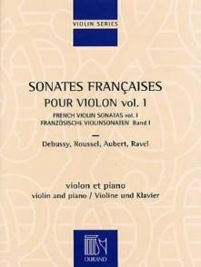 SONATES FRANCAISES VOL 1 VIOLON