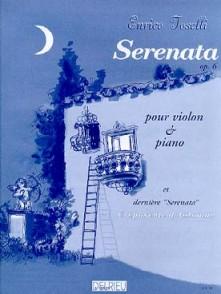 TOSELLI E. SERENADE OP 6 VIOLON