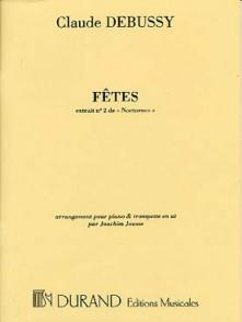 DEBUSSY C. FETES TROMPETTE
