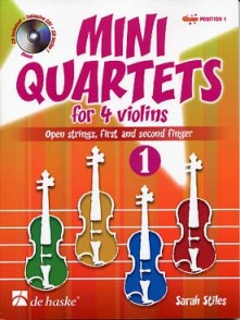STILES S. MINI QUARTETS VOL 1 4 VIOLONS