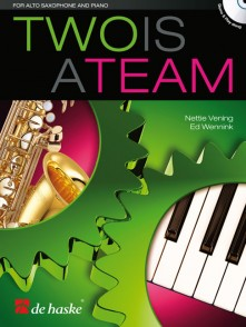 TWO IS A TEAM SAXOPHONE ALTO