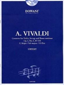VIVALDI A. CONCERTO OP 3 N°3 RV 310 VIOLON