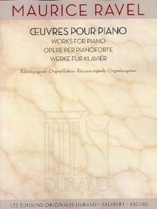 RAVEL M. OEUVRES POUR PIANO