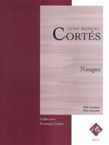 CORTES J.M. NUAGES FLUTE GUITARE