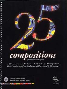 25ME ANNIVERSAIRE PRODUCTIONS D'OZ GUITARE