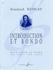 KUHLAU F. INTRODUCTION ET RONDO FLUTE