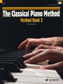 HEUMANN H.G. CLASSICAL PIANO METHOD BOOK  2