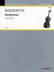 HINDEMITH P. MEDITATION ALTO