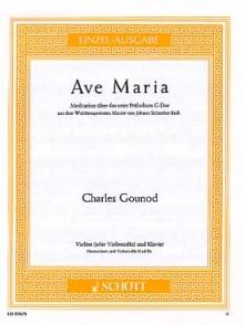 GOUNOD C. AVE MARIA VIOLON OU VIOLONCELLE