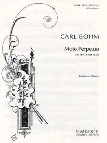 BOHM C. MOTO PERPETUO VIOLON