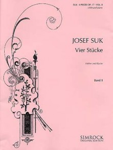 SUK J. 4 STUCKE OP 17 VOL 2 VIOLON