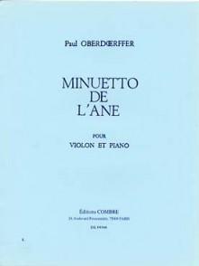OBERDOERFFER P. MINUETTO DE L'ANE VIOLON