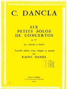 DANCLA C. PETIT SOLO DE CONCERTO OP 141 N°5 VIOLON
