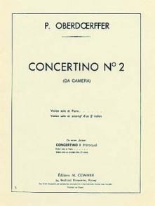 OBERDOERFFER P. CONCERTINO N°2 VIOLON