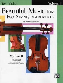 APPLEBAUM BEAUTIFUL MUSIC VOL 2 ALTOS