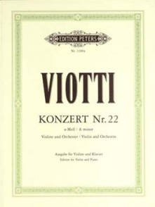 VIOTTI G.B. CONCERTO N°22 VIOLON