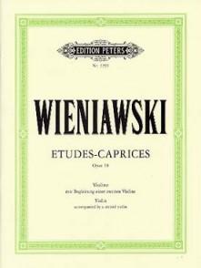 WIENIAWSKI H. ETUDES-CAPRICES OPUS 18 VIOLON