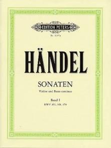 HAENDEL G.F. SONATES VOL 1 VIOLON
