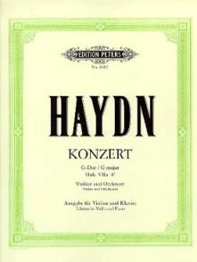 HAYDN J. CONCERTO HOB VIIA:4 SOL MAJEUR VIOLON
