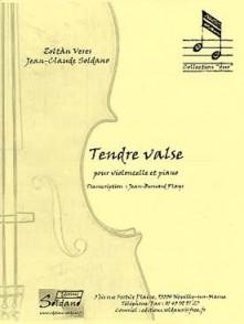 VERES Z./SOLDANO J.C. TENDRE VALSE VIOLONCELLE PIANO