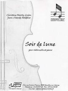 MARTY-LEJON C./SOLDANO J.C. SOIR DE LUNE VIOLONCELLE