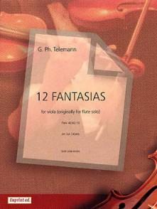 TELEMANN G.P. 12 FANTAISIES ALTO