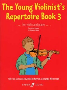 KEYSER (DE) P. THE YOUNG VIOLINIST'S REPERTOIRE BOOK 3