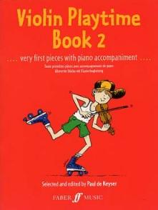 KEYSER (DE) P. VIOLIN PLAYTIME BOOK 2 VIOLON