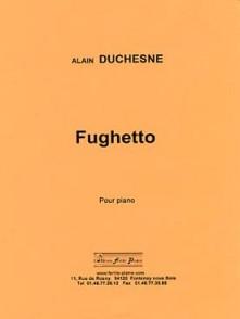 DUCHESNE A. FUGHETTO PIANO