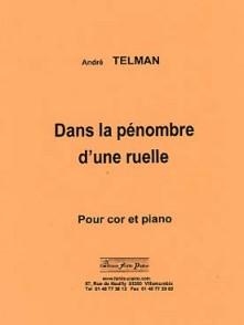 TELMAN A. DANS LA PENOMBRE D'UNE RUELLE COR