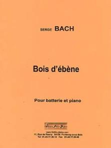 BACH S. BOIS D'EBENE BATTERIE
