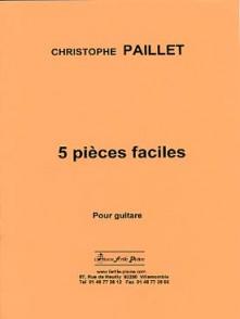 PAILLET C. PIECES FACILES GUITARE