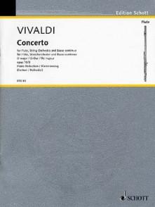 VIVALDI A. CONCERTO OP 10/3 FLUTE