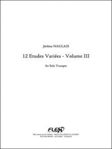 NAULAIS J. ETUDES VARIEES VOL 3 TROMPETTE