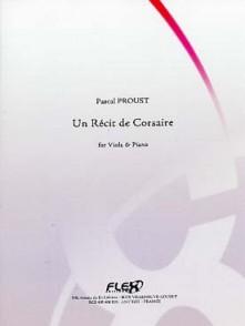 PROUST P. UN RECIT DE CORSAIRE ALTO