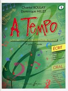 BOULAY C./MILLET D. A TEMPO VOL 5 ECRIT