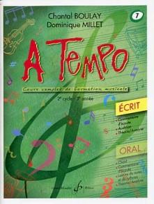BOULAY C./MILLET D. A TEMPO VOL 7 ECRIT