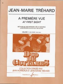 TREHARD J.M. A PREMIERE VUE VOL 1 GUITARES