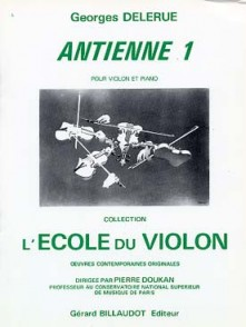 DELERUE G. ANTIENNE 1 VIOLON